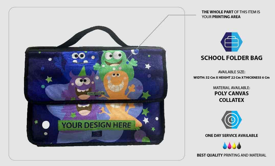 School Folder Bag 1