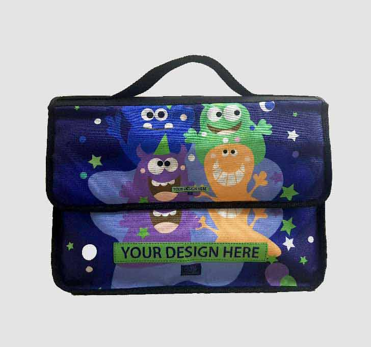 fullprint  School Folder Bag 2