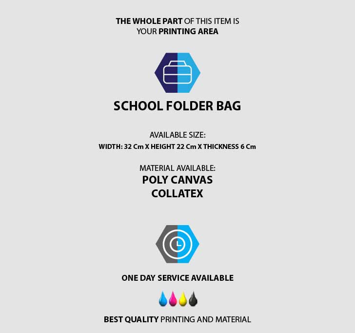 fullprint  School Folder Bag 3