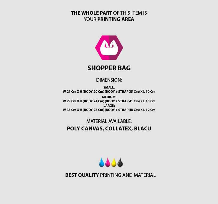 fullprint  Shopper Bag mobile 3