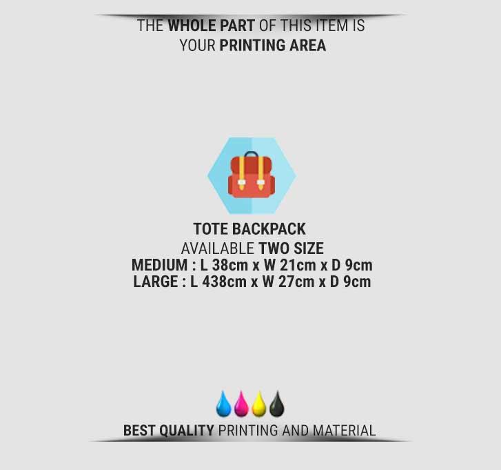 fullprint  tote backpack 3