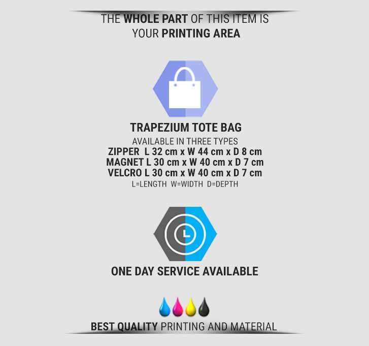 fullprint  specification mobile trapez totebag 2
