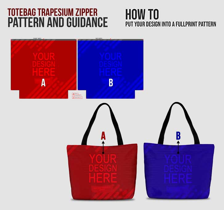 fullprint  specification mobile trapez totebag 3