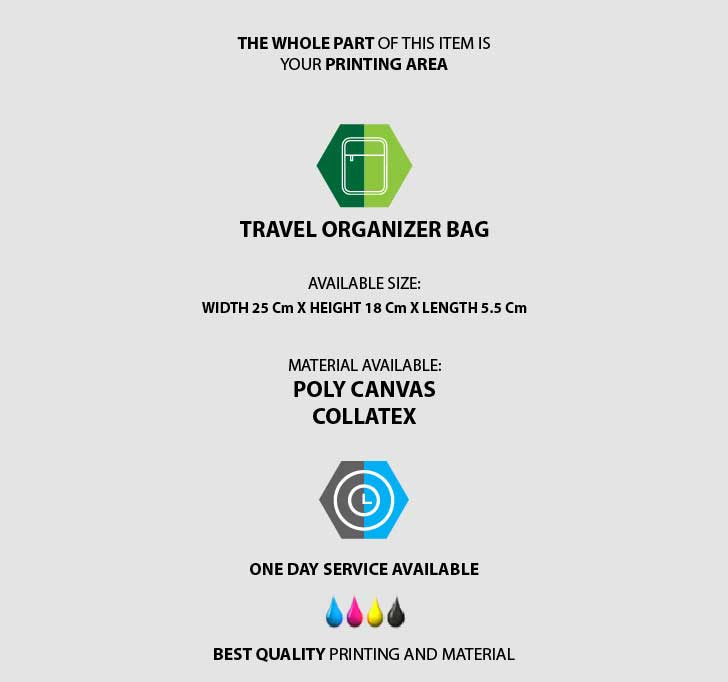 fullprint  Tas Travel Organizer 3