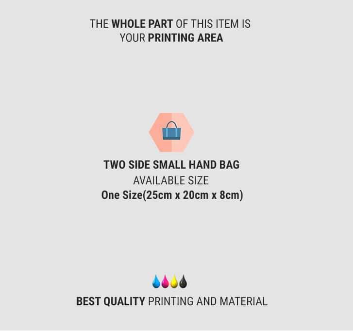 two side small hand bag 2