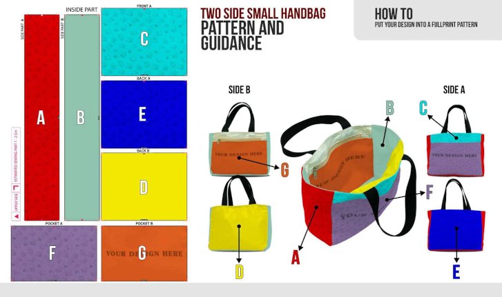 fullprint  specification mobile two side small hand bag 3