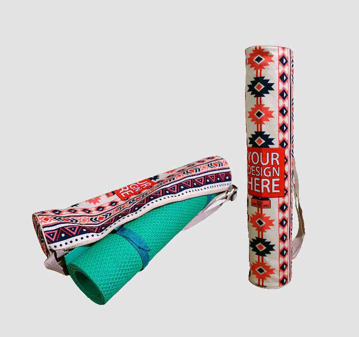 fullprint  Yoga Mat Bag 2