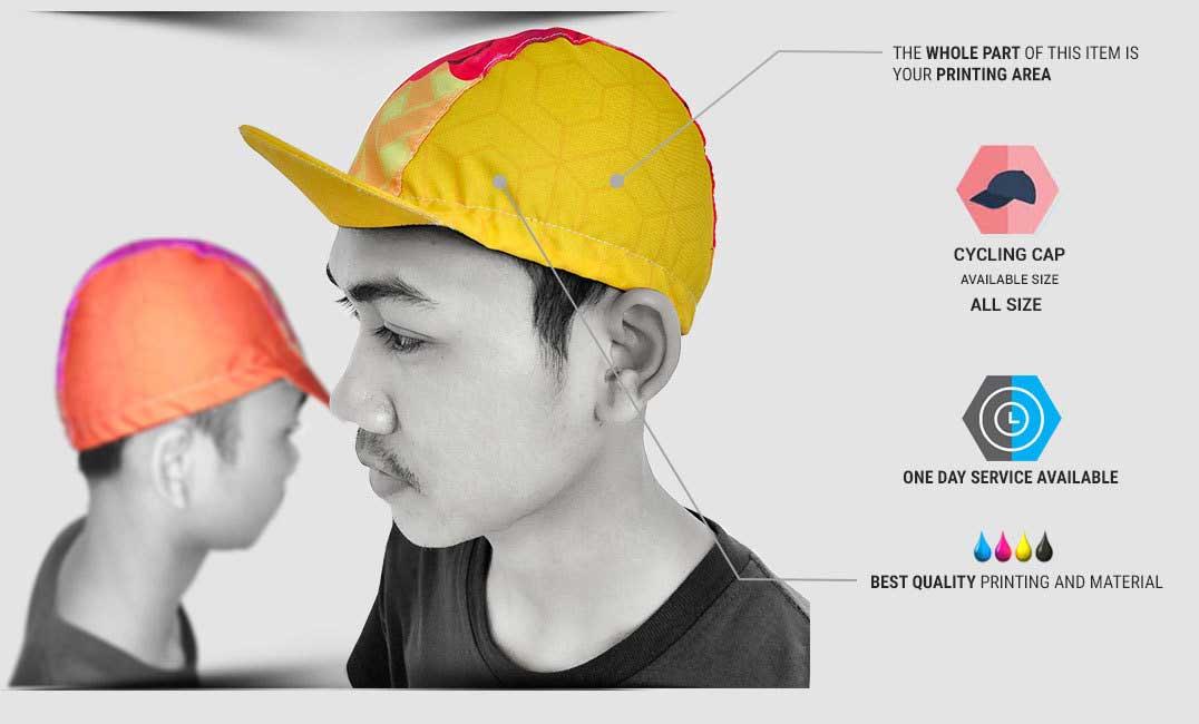 spesifikasi Cycling Cap