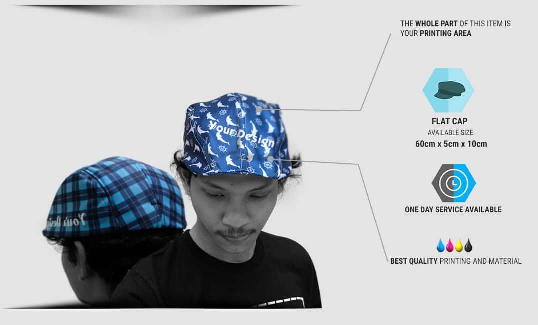spesifikasi flatcap