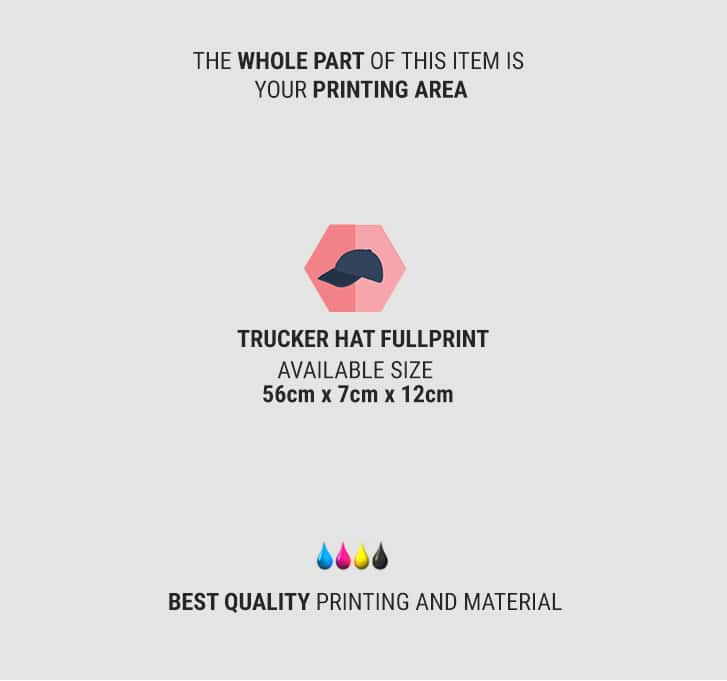 trucker hat full print 2