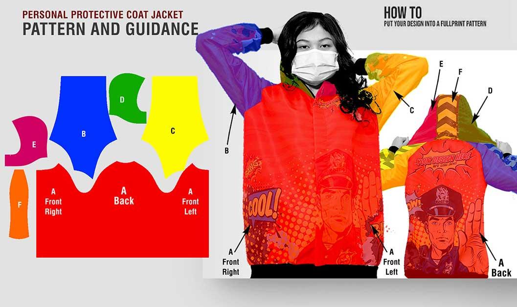 guidance pattern long coat apd 1