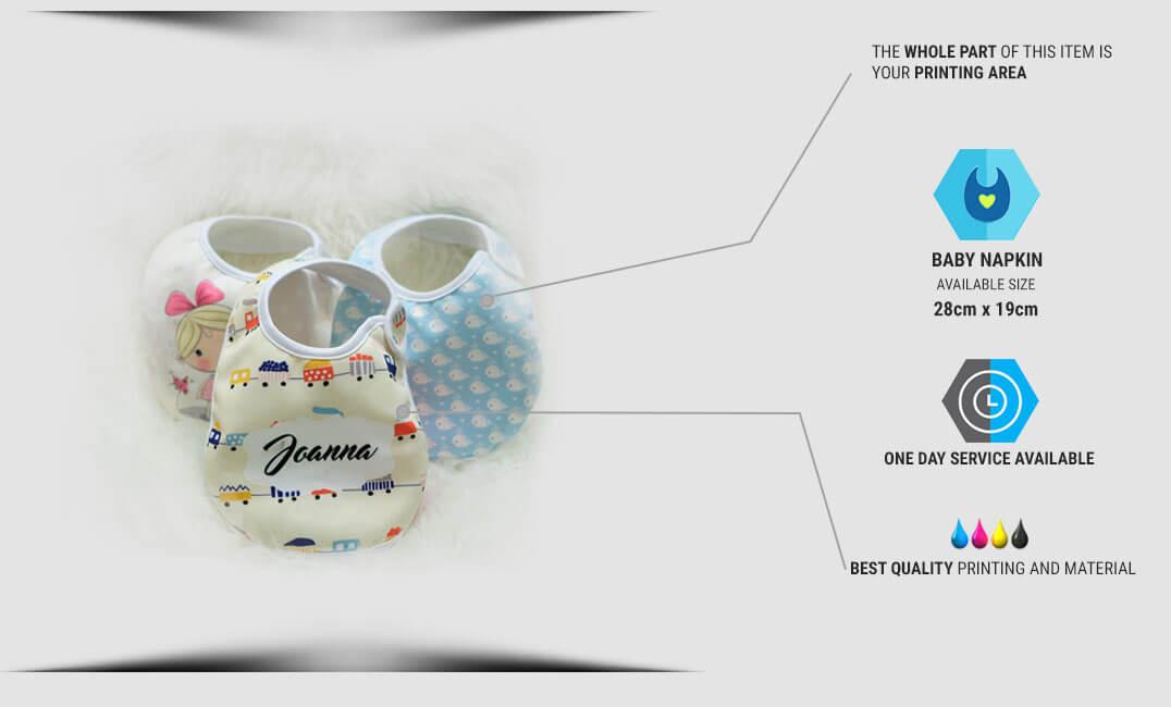 spesifikasi napkin bayi