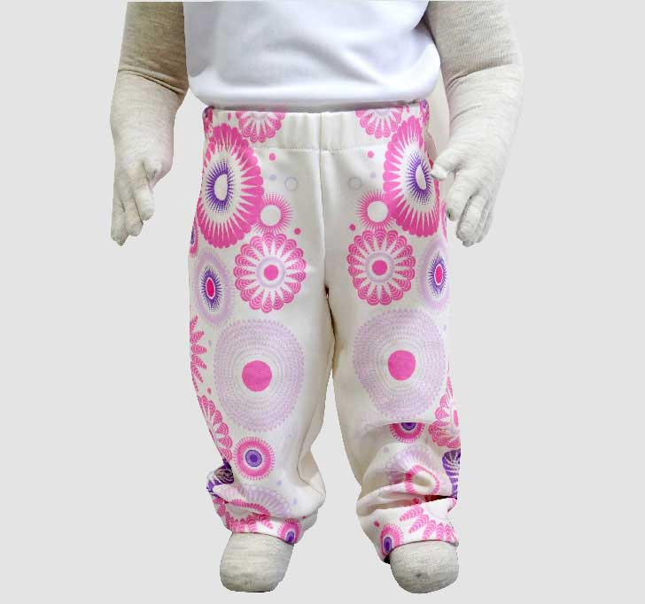 fullprint  Baby Long Pants 2