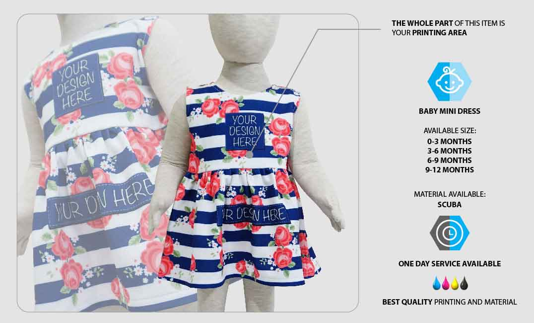 Dress Bayi Mini 1