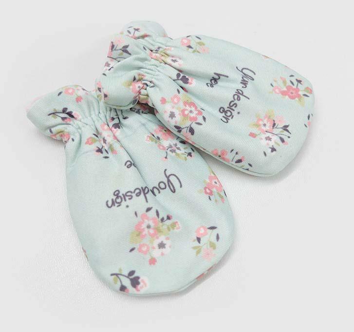 fullprint  Baby Mittens 2