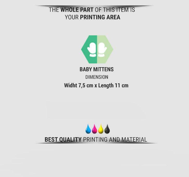 fullprint  Baby Mittens 3