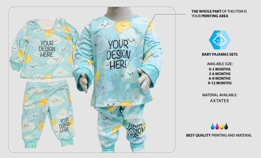 Baby Pajamas Sets 1