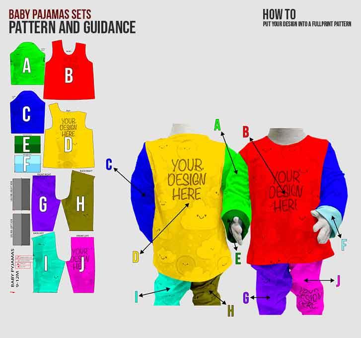 fullprint  Baby Pajamas 3