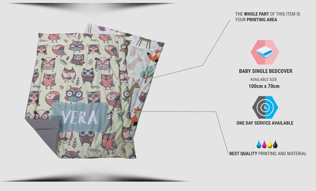 spesifikasi baby bed cover