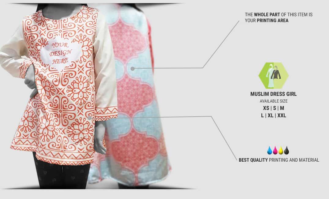 muslim dress girl specification