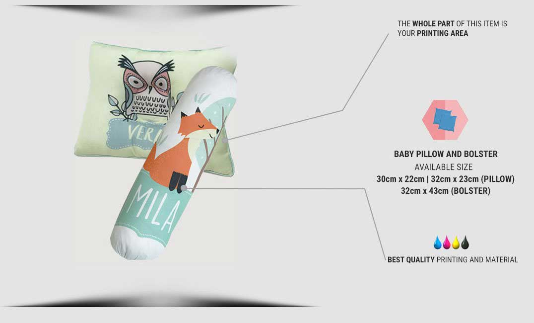 baby pillow & bolster