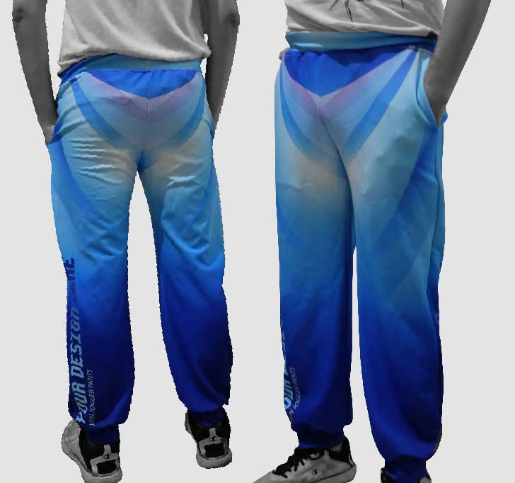 fullprint  Men Jogger Pants 2