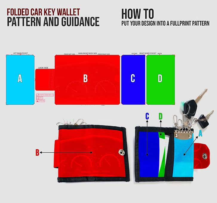 fullprint  specification mobile key car wallet 3