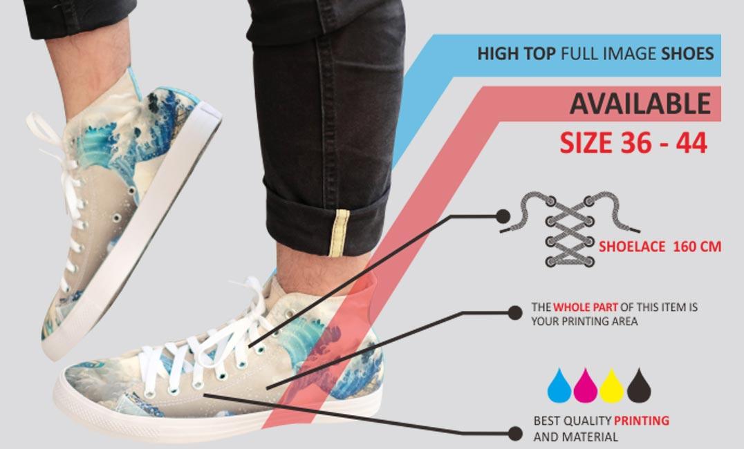 spesifikasi sepatu high top 1