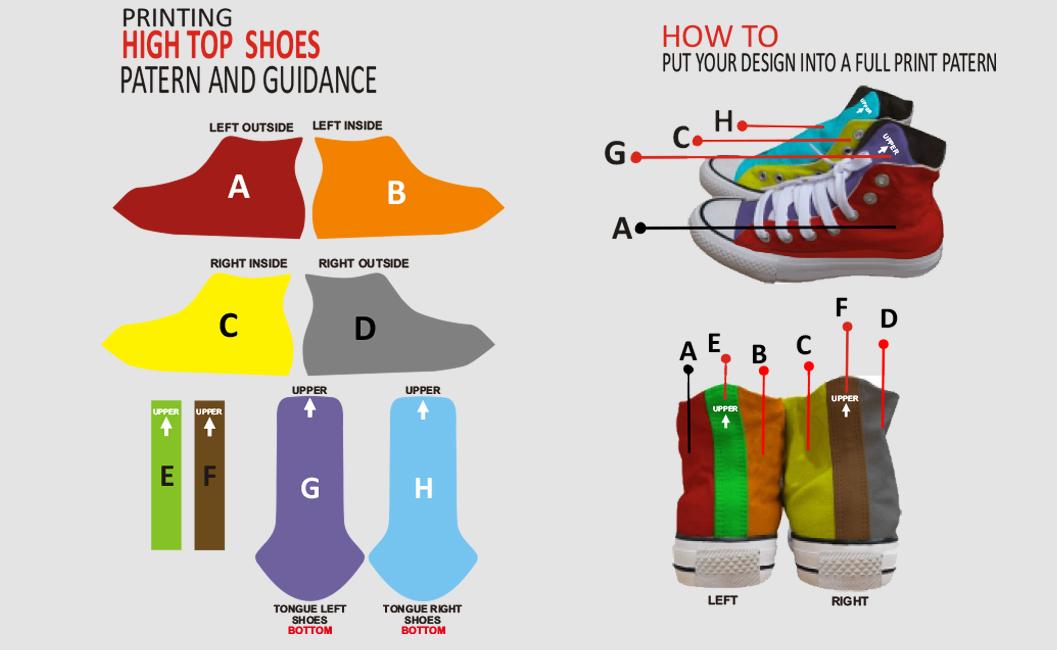 sepatu high top 1