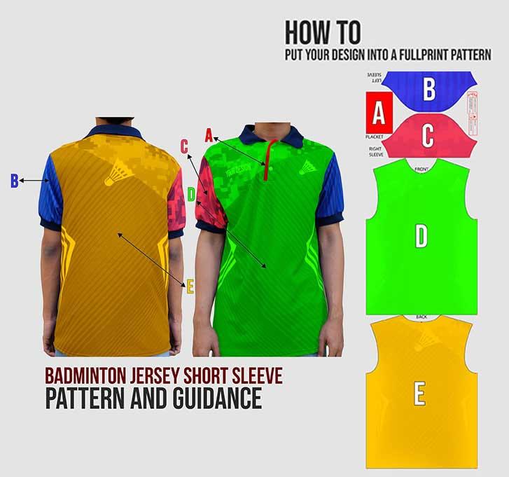 baju badminton 3