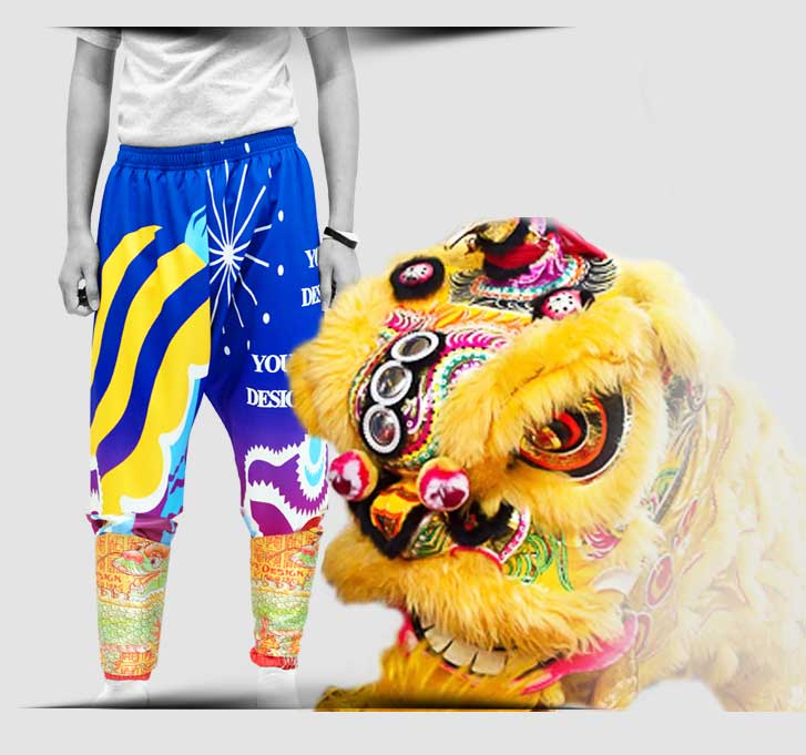 dragon dance pants mob 1