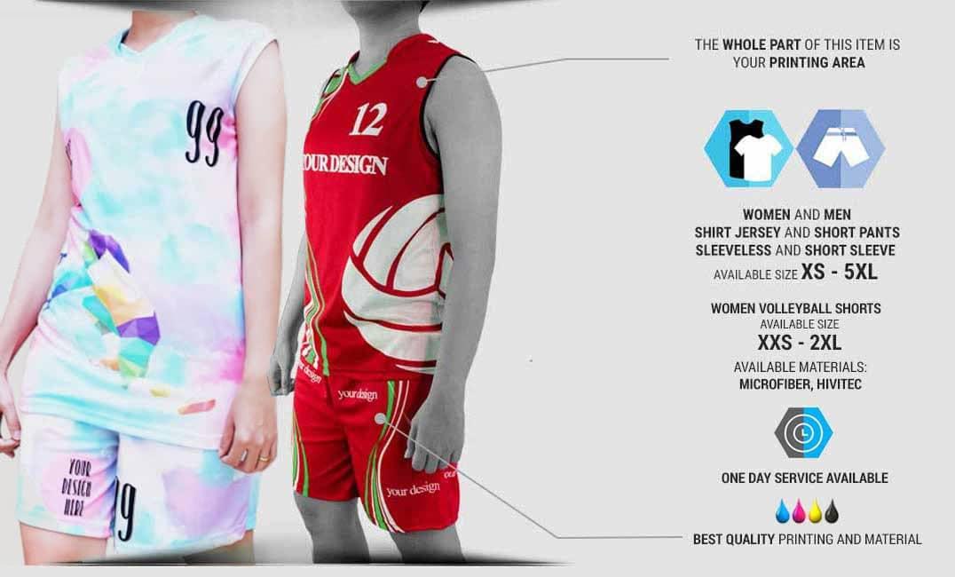 volley ball jersey desktop