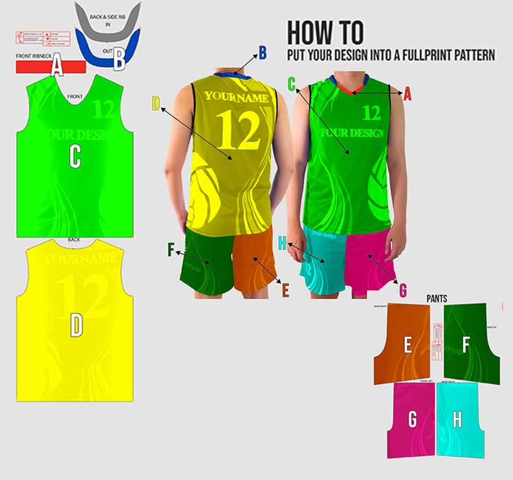 volley ball jersey 3