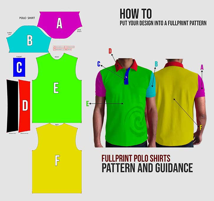 KIDS POLO SHIRT FULLPRINT specification mobile 3