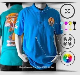 print polo t-shirt 1