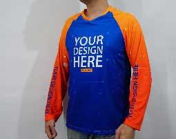 Raglan T-shirt Fullprint 1