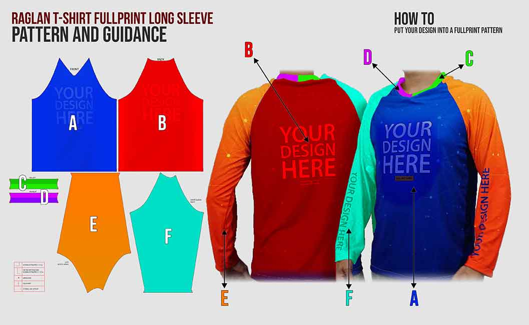 Raglan fp long sleeve