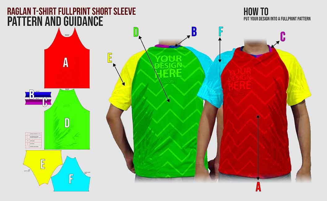 Raglan fp short sleeve