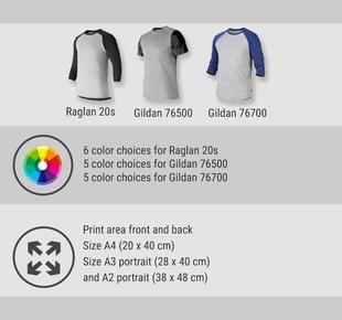 print raglan t-shirt 2