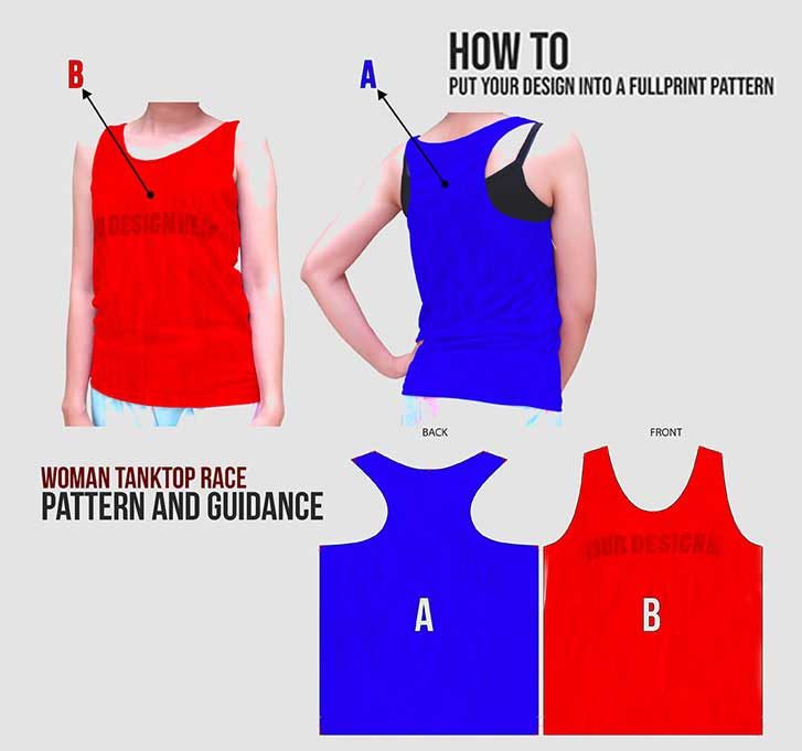 Tanktop Women specification mobile 4