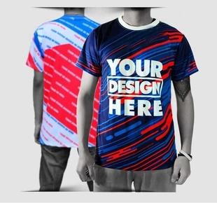 full print t-shirt 1