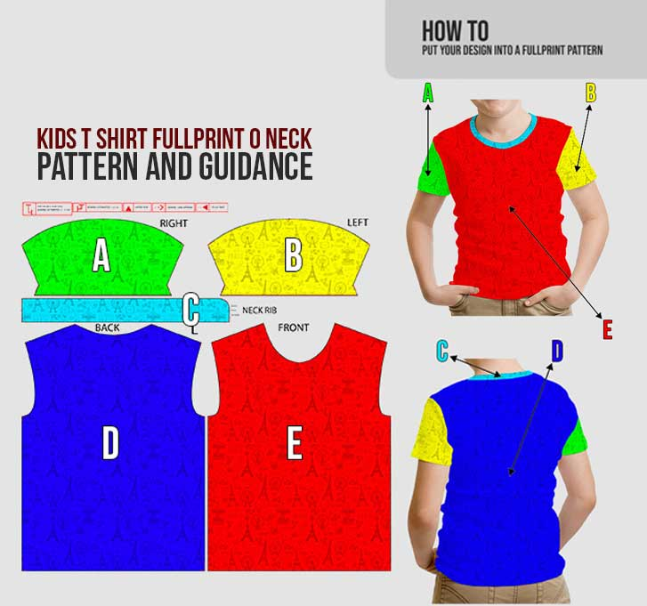 fullprint t shirt kids 2
