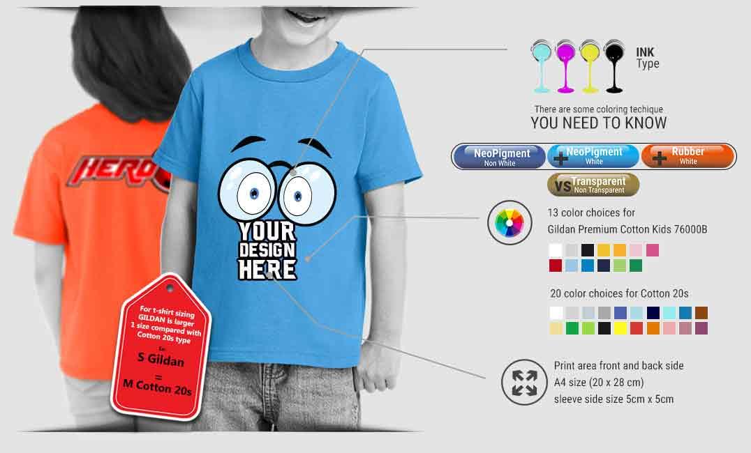 print t shirt kids