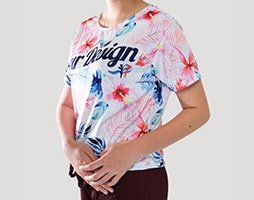 sablon kaos crop top 2