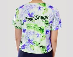 sablon kaos crop top 3