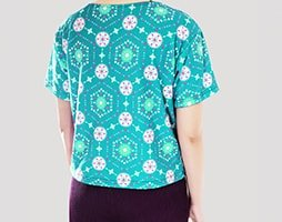 sablon kaos crop top 6