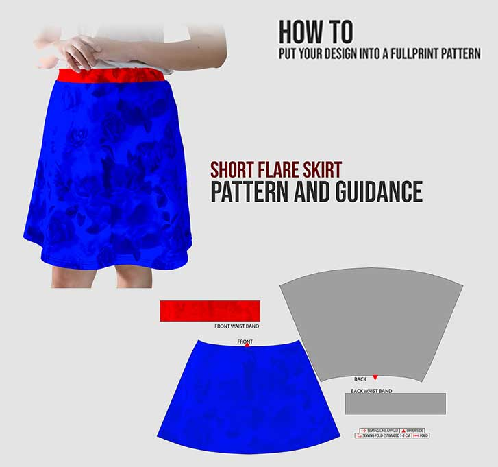 flare skirt specification mobile 3