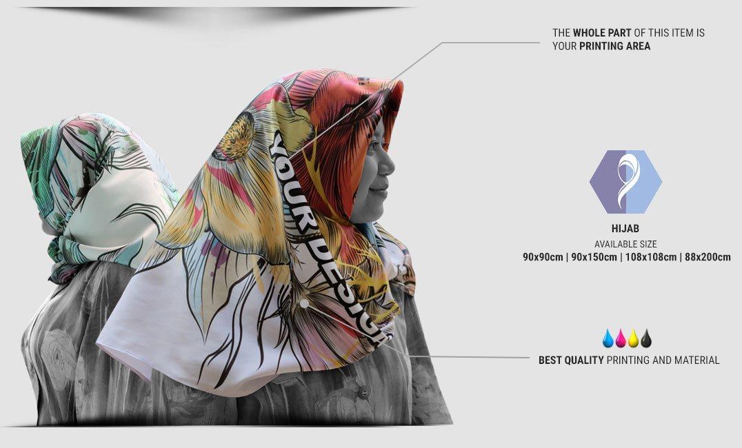 print hijab specification