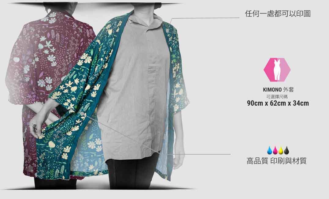 custom kimono cardigan