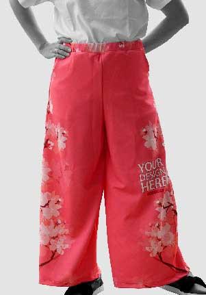 Long Cullote Pants 23